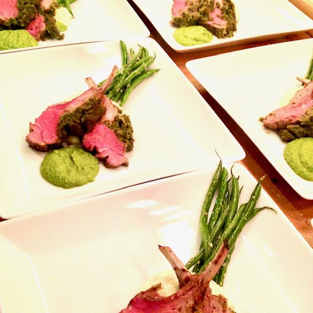 Herb Encrusted Grass Fed Lamb Chops