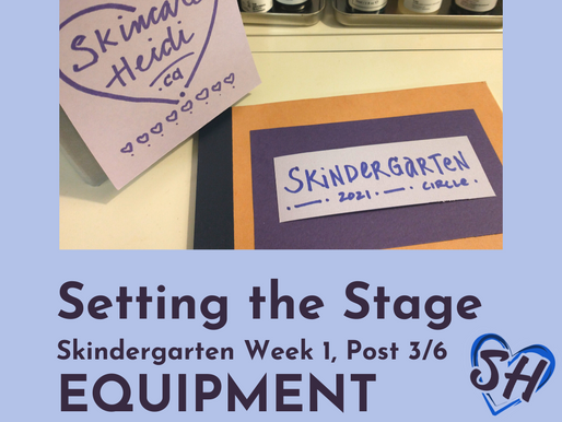 3. Setting the Stage: TOOLS & EQUIPMENT - Face Cloths and More