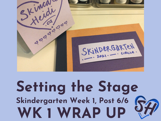 6. Setting the Stage - Wrap up