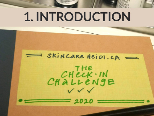 The Check-In Challenge.  INTRODUCTION & CHALLENGE OUTLINE