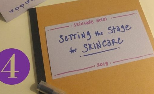 4. Setting the Stage: MAKING SPACE - Your Skincare Set-up