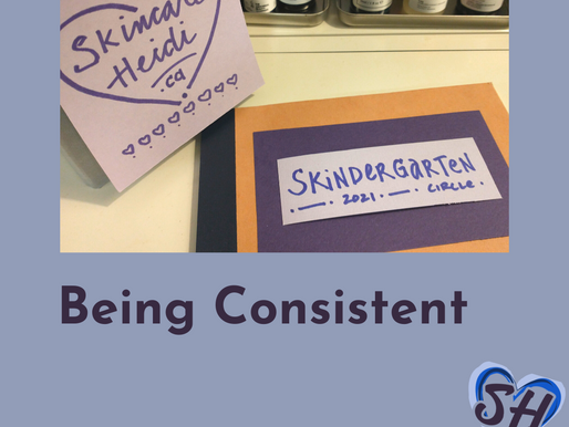 1. Being Consistent - declare it; The Check-In Challenge.