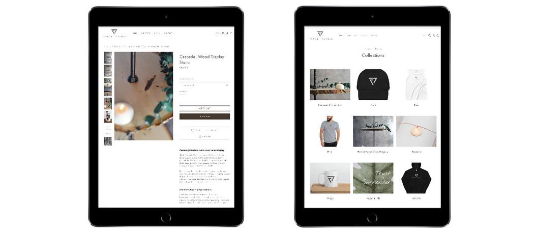 Forge + Vessel iPad Portfolio Mockup