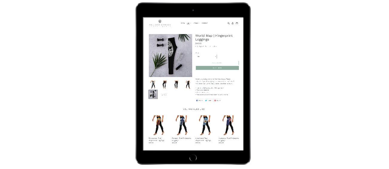 Reliant Stride iPad Portfolio Mockup
