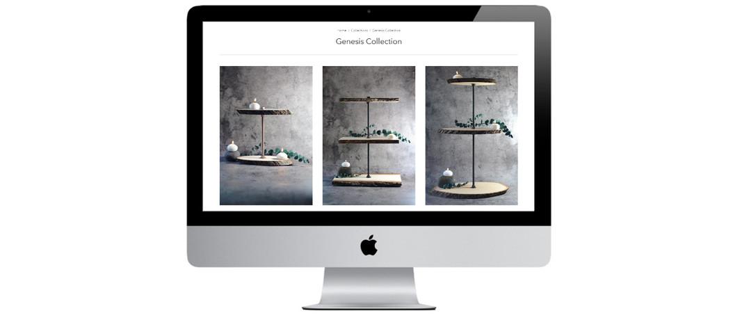 Forge + Vessel Desktop Portfolio Mockup