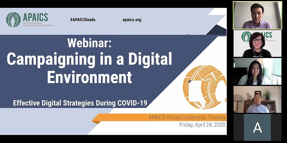 Virtual Leadership Training - Campaigning in a Digital Environment