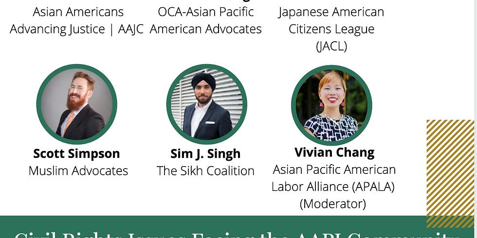 Legislative Leadership Series: Civil Rights Issues Facing the AAPI Community