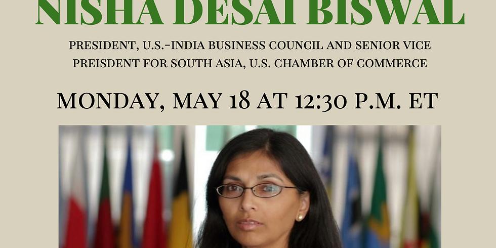 APAICS In Conversation w/ Nisha Desai Biswal