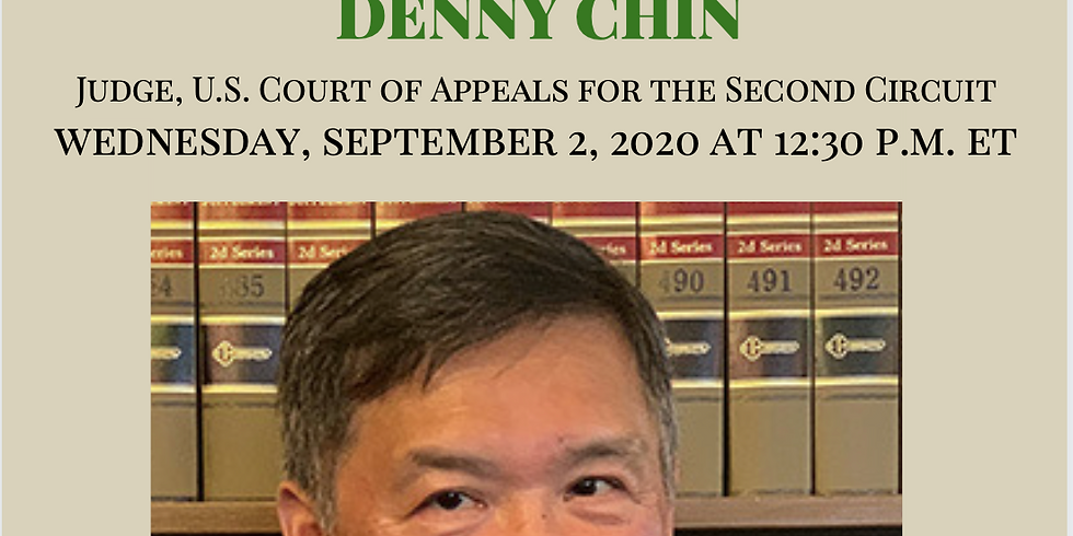 APAICS In Conversation w/ Denny Chin