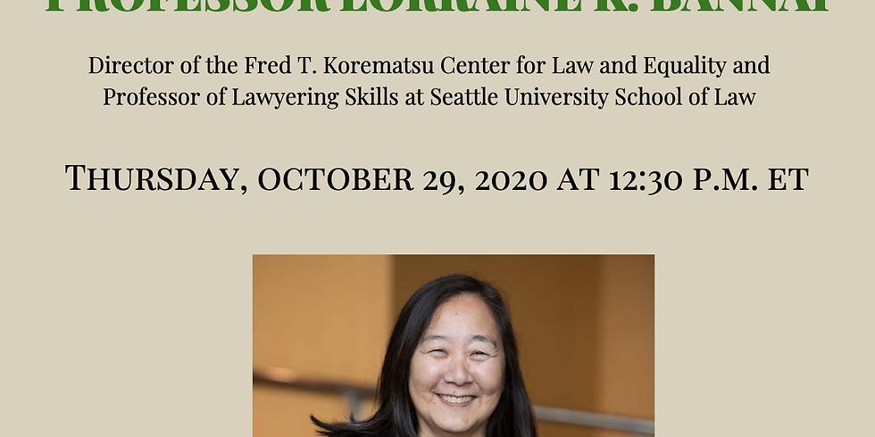 APAICS in Conversation: Professor Lorraine K. Bannai
