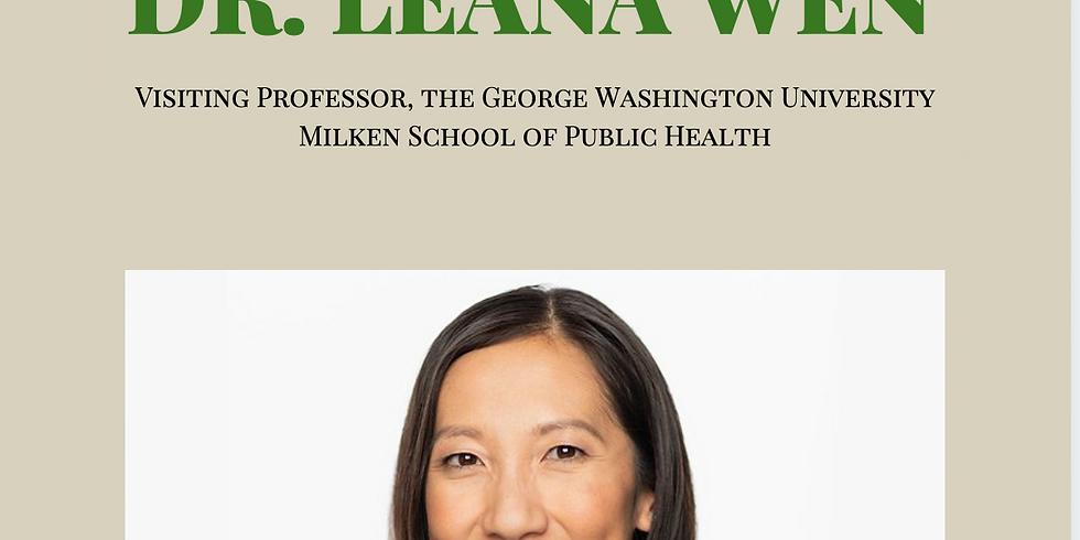 APAICS in Conversation: Leana Wen