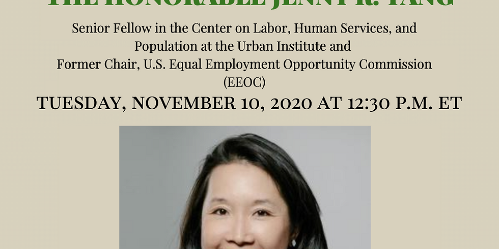 APAICS in Conversation: The Honorable Jenny R. Yang