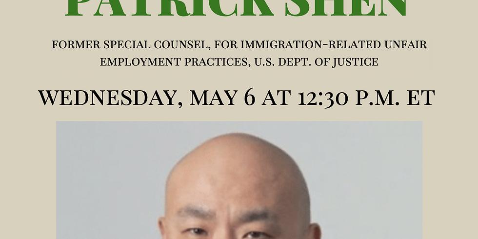 APAICS In Conversation w/ Patrick Shen