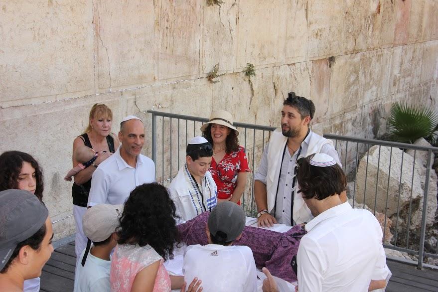 At Ezrat Israel, Western Wall's egalitarian plaza