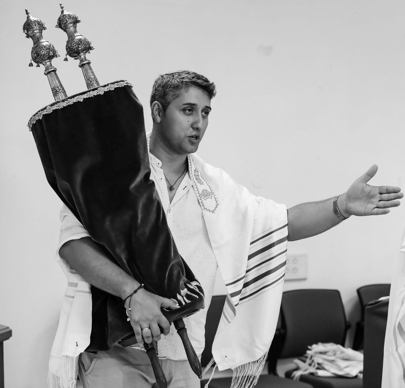 At Achvat Israel congregation, Rishon LeZion