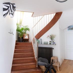 L'escalier !