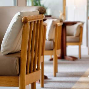 Détail du fauteuil