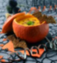 ディップでハロウィンかぼちゃ