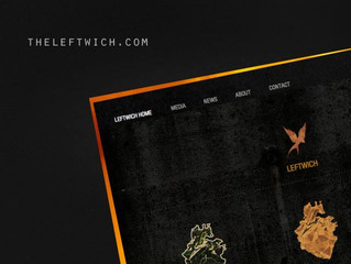NEW WEBSITE LAUNCHED FOR CINEMATIC ELECTRO-ROCK OUTFIT 'LEFTWICH'