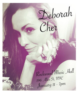 Deborah Cher Live at Rockwood Music Hall