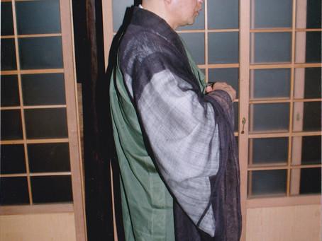 Je et nous, gratitude pour le Maître Joshin Sensei