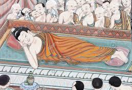 15 Février: Parinirvana du Bouddha