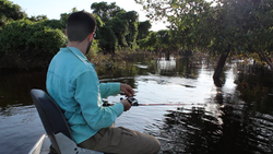 Pescaria na cheia