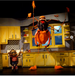 Marionette Theater set