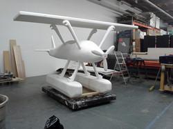 SBI carved foam plane
