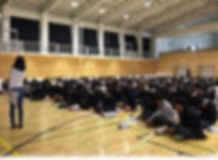 J-FUNユース 出張授業