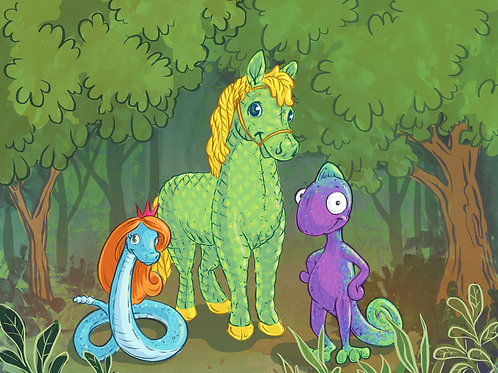 Mr. Green Pony Finds a Friend - SAMPLE Educational Activities