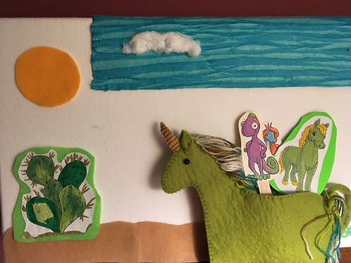 Mr. Green Pony & Curly Cactus Story