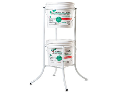 Monk Disinfectant Wipe Metal Stand - for 800 Count Buckets