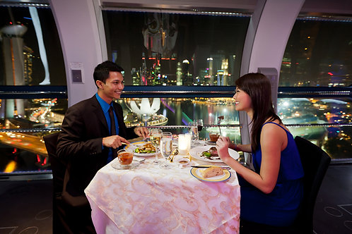 SINGAPORE FLYER SKY DINING (FOR 2 GUESTS)