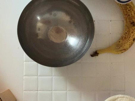 Sourdough Banana Pancakes
