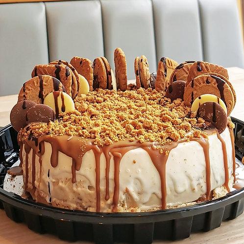 Bonkers for Biscoff - Gelato Cake