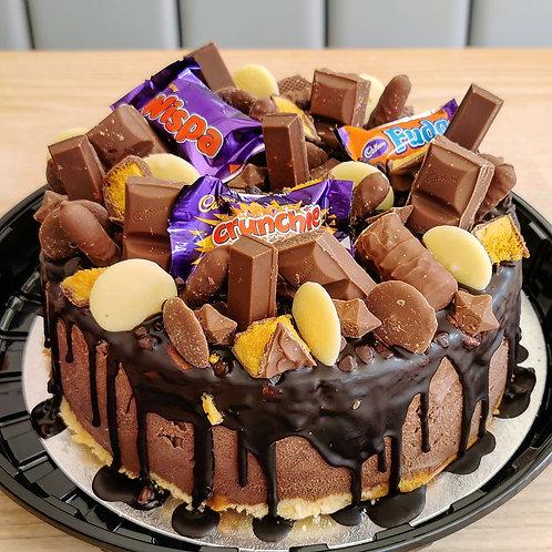 Chocoholic Dream - Gelato Cake