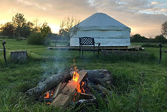 A place for Fire ceremonies and Sharing