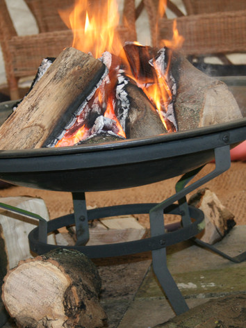 Taking the fire into the yurt