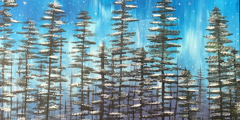 Paint Event - Winter Twilight