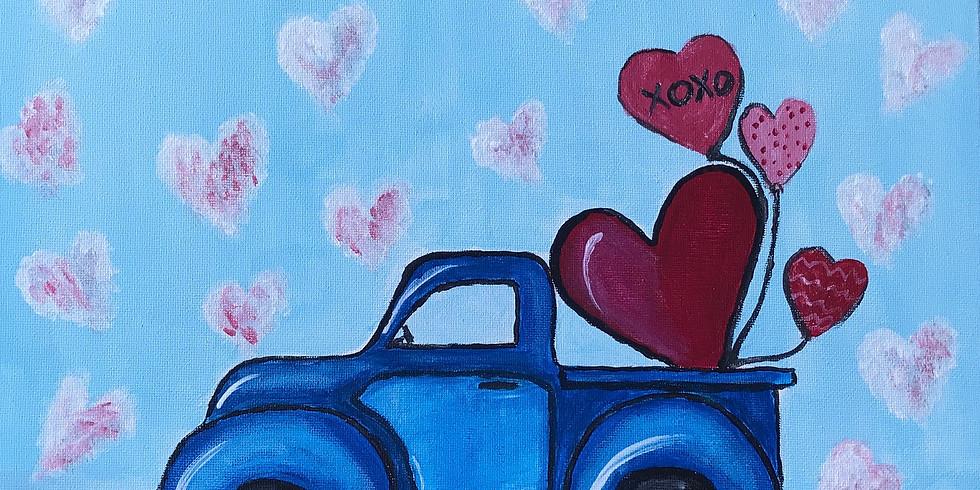 Valentine's Day Paint Evening