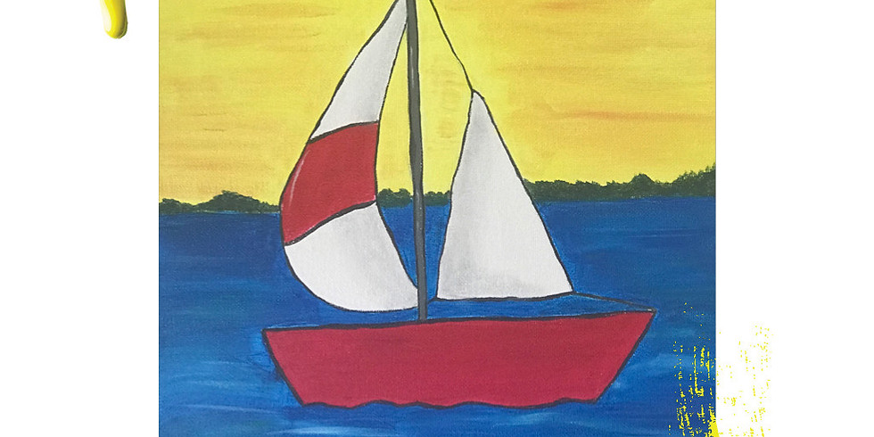 Paint Event - Sailing Boat