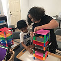 Child Care, After School Program, Building games