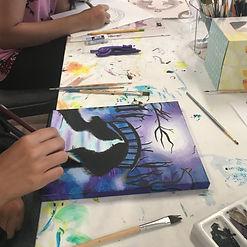 Enrichment Activities, Art Classes, Merging Colors