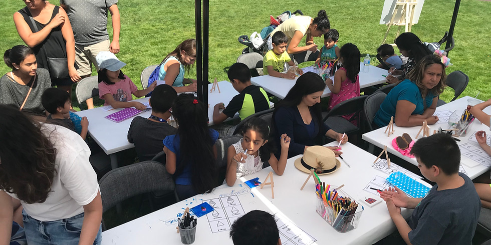SOW Run 2019 Face Painting and Art Classes