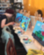 Virtual Paint Parties, Paint & Sip