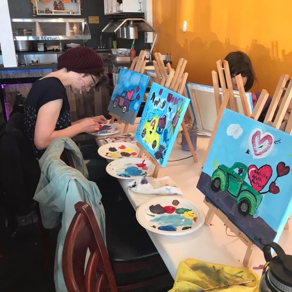Paint Event