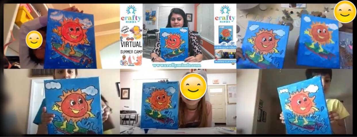 Virtual Art Camp