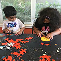 Child Care, After School Program, Puzzles