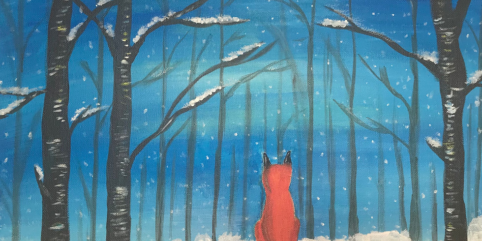 Paint Event - Wintry Woods